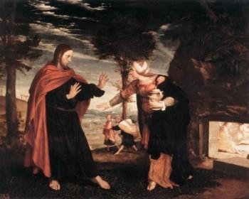 Hans Holbein Młodszy Nie dotykaj Mnie