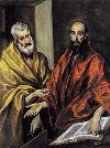 El Greco Święci Piotr i Paweł