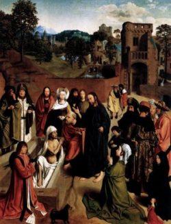 Geertgen tot Sint Jans Wskrzeszenie Łazarza