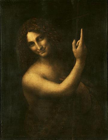 Leonardo da Vinci Św. Jan Chrzciciel