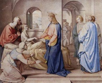 Friedrich Overbec Wskrzeszenie córki Jaira