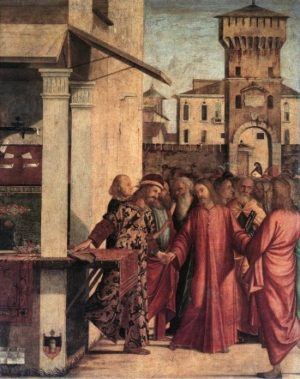 Vittore Carpaccio Powołanie Mateusza