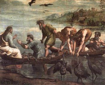 Rafael Santi Cudowny połów ryb