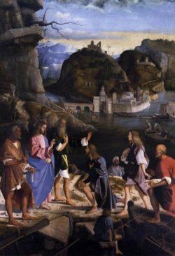 Marco Basaiti Powołanie synów Zebedeusza