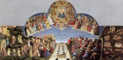 Fra Angelico Sąd Ostateczny