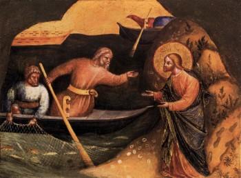 Lorenzo Veneziano Powołanie Piotra i Andrzeja