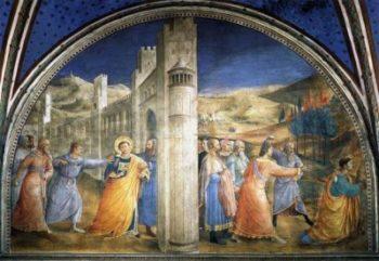 Fra Angelico Ukamienowanie Św. Szczepana