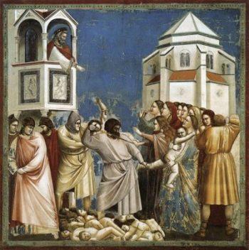 Giotto di Bondone Rzeź niewiniątek