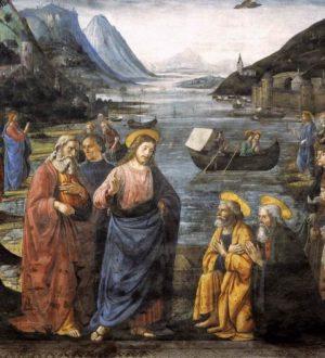 Domenico Ghirlandaio Powołanie Apostołów (detal)