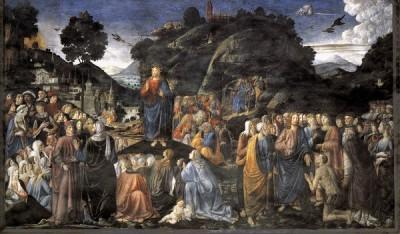 Cosimo Rosselli Kazanie na Górze
