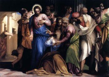Paolo Veronese Nawrócenie Marii Magdaleny