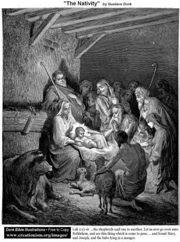 Gustave Doré Narodzenie