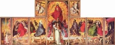Rogier van der Weyden - Sąd Ostateczny