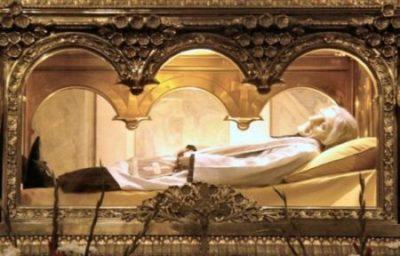 Relikwiarz św. Jana Marii Vianney