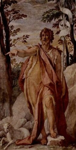 Federico Zuccari Św. Jan Chrzciciel