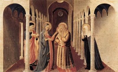Fra Angelico Ofiarowanie Jezusa w Świątyni