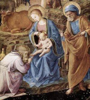 Fra Angelico Pokłon Trzech Mędrców