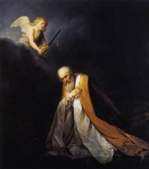 Pieter de Grebber Król Dawid na modlitwie