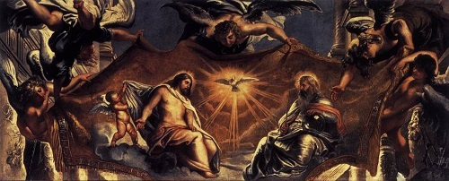 Pieter Rubens Trójca Święta (detal)