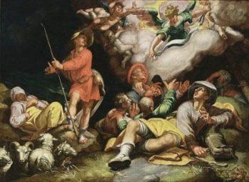 Abraham Bloemaert Adoracja pasterzy