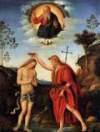 Bacchiacca Chrzest Chrystusa