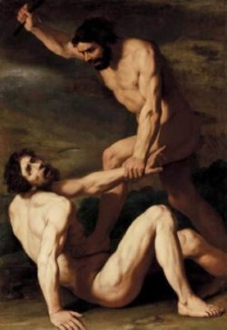 Daniele Crespi Kain zabija Abla