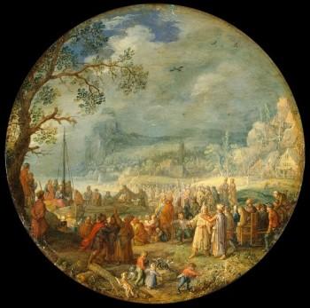 David Vinckboons Jezus naucza nad Genezaret