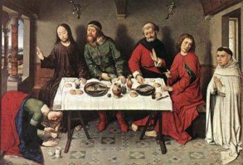 Dieric Bouts Starszy Chrystus w domu Szymona