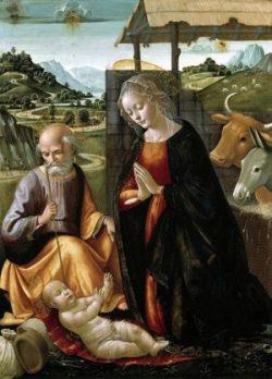 Domenico Ghirlandaio Narodzenie