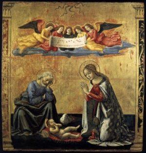 Domenico Ghirlandaio Narodziny