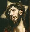 El Greco Chrystus piastuje Krzyz
