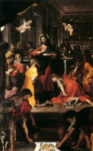 Federico Fiori Barocci Ustanowienie Eucharystii