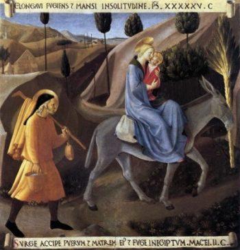 Fra Angelico Ucieczka do Egiptu