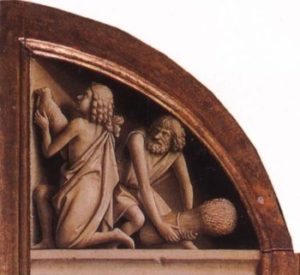 Jan van Eyck Ofiara Abla i Kaina