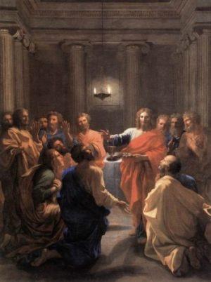 Nicolas Poussin Ustanowienie Eucharystii
