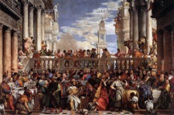 Paolo Veronese Wesele w Kanie