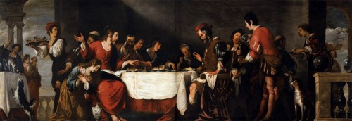 Pierre Subleyras Chrystus w domu Szymona