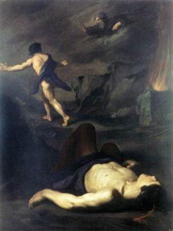 Pietro Novelli Kain i Abel