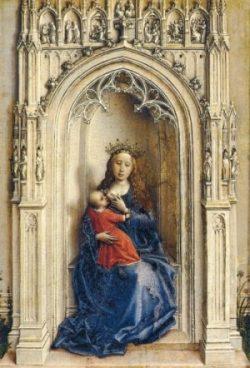 Rogier van der Weyden Madonna z Jezusem