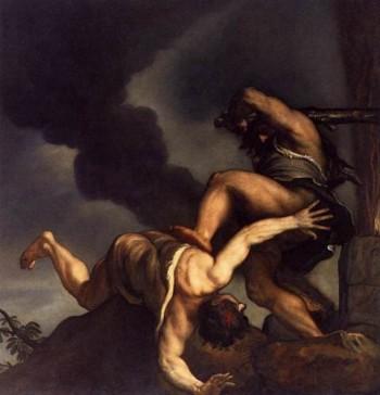 Tycjan Kain i Abel