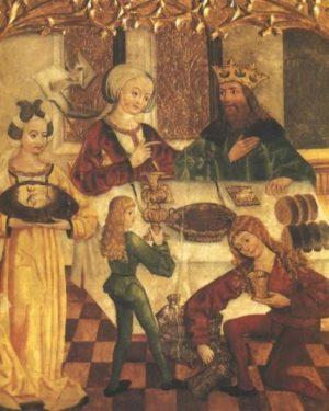 Uczta u Heroda (Polska - malarz nieznany)