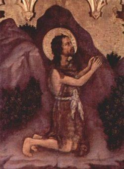 Gentile da Fabriano Św. Jan Chrzciciel
