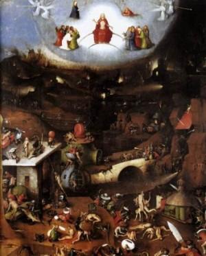 Hieronim Bosch Sąd Ostateczny (panel centralny)