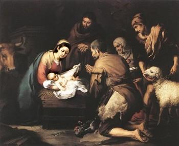 Bartolomé Esteban Murillo Adoracja pasterzy