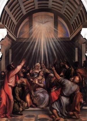 Vecellio Tiziano Zesłanie Ducha Św.