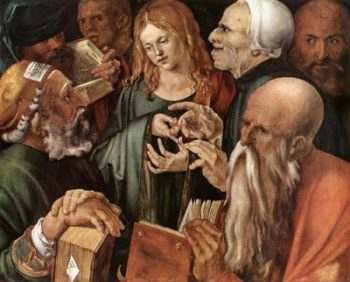 Albrecht Dürer Chrystus wśród doktorów