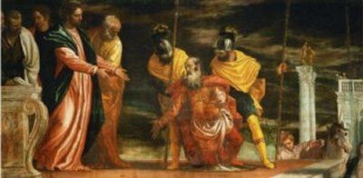 Paolo Veronese Jezus uzdrawia sługę Setnika