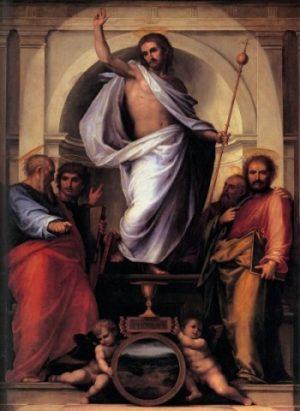 Fra Bartolomeo Jezus i Ewangeliści