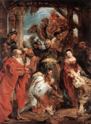Pieter Rubens Pokłon Trzech Mędrców