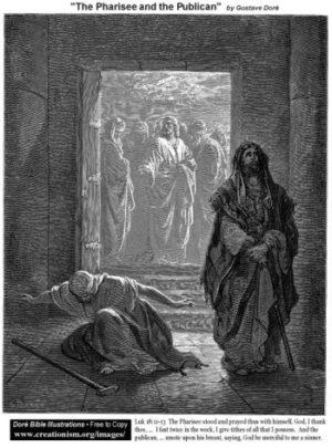 Gustave Doré Faryzeusz i Celnik